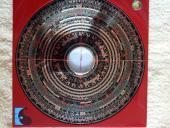 綜合三元三合精要風水羅盤 10 吋 (玄空七、八、九運正盤、兼盤及城門水法) Feng Shui Compass