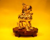 鍍金銅貔貅 (小)
