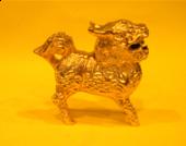 2.5 吋 銅企立麒麟 (超小)