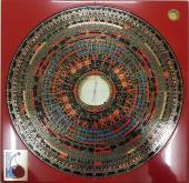 綜合三元三合特大精要風水羅盤 12 吋 (玄空七、八、九運正盤、兼盤及城門水法) Feng Shui Compass